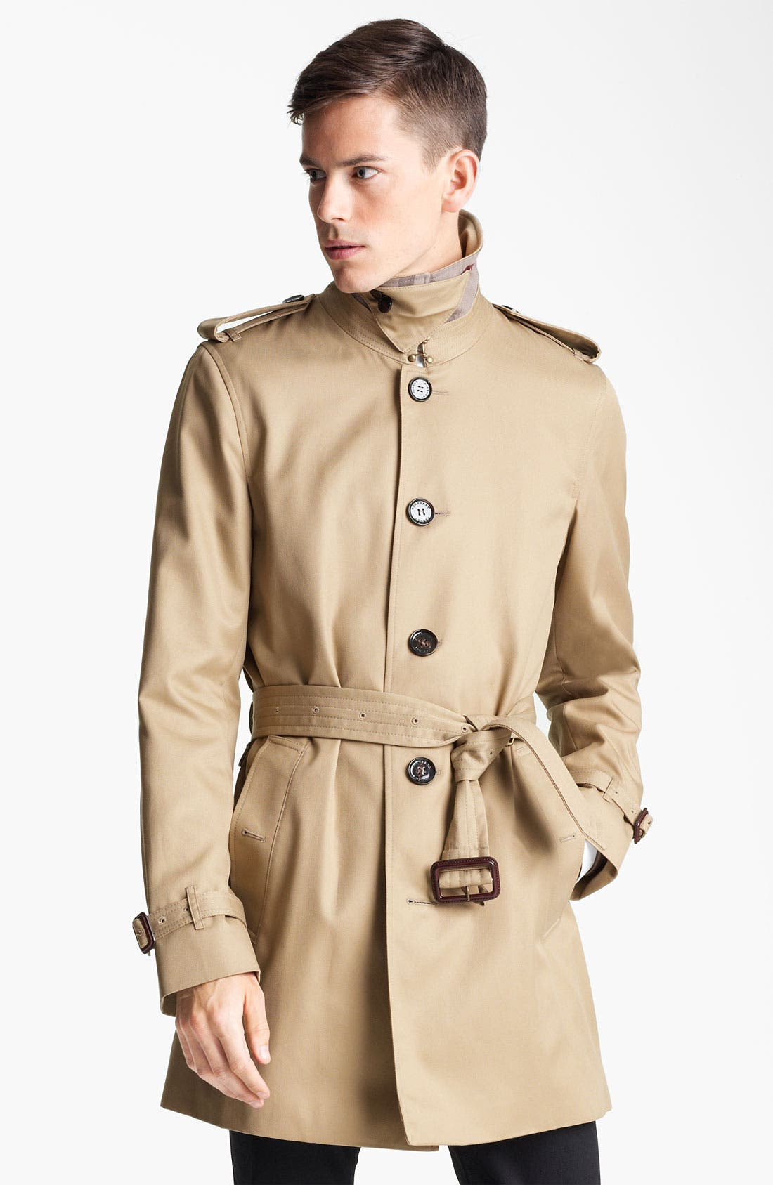 Alternate Image 3  - Burberry London 'Britton' Single Breasted Trench Coat