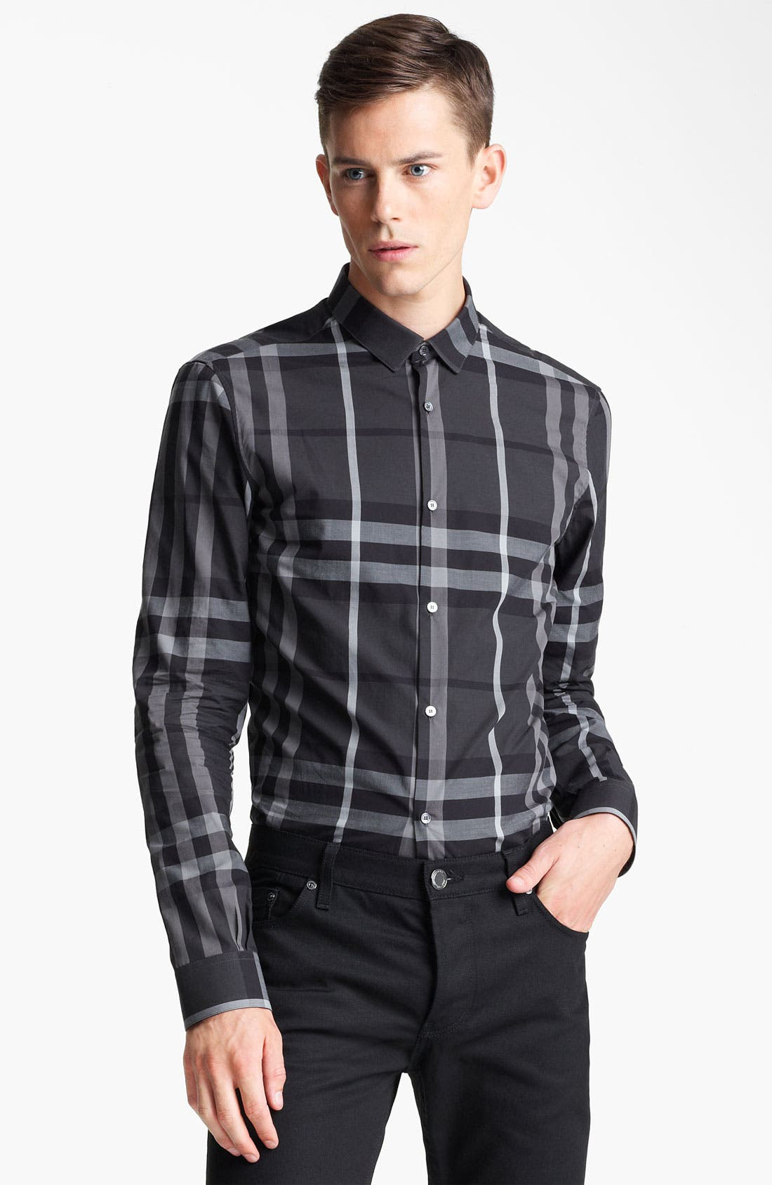 Alternate Image 1 Selected - Burberry London 'Pembury' Check Sport Shirt