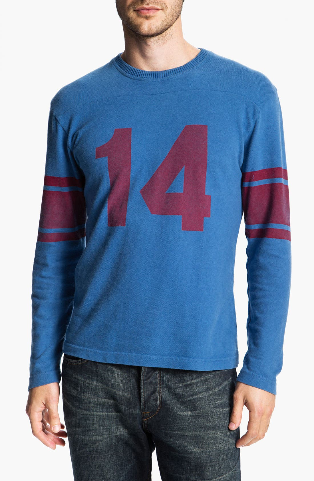 Main Image - Red Jacket 'Y.A. Tittle - Bulldog' Long Sleeve T-Shirt