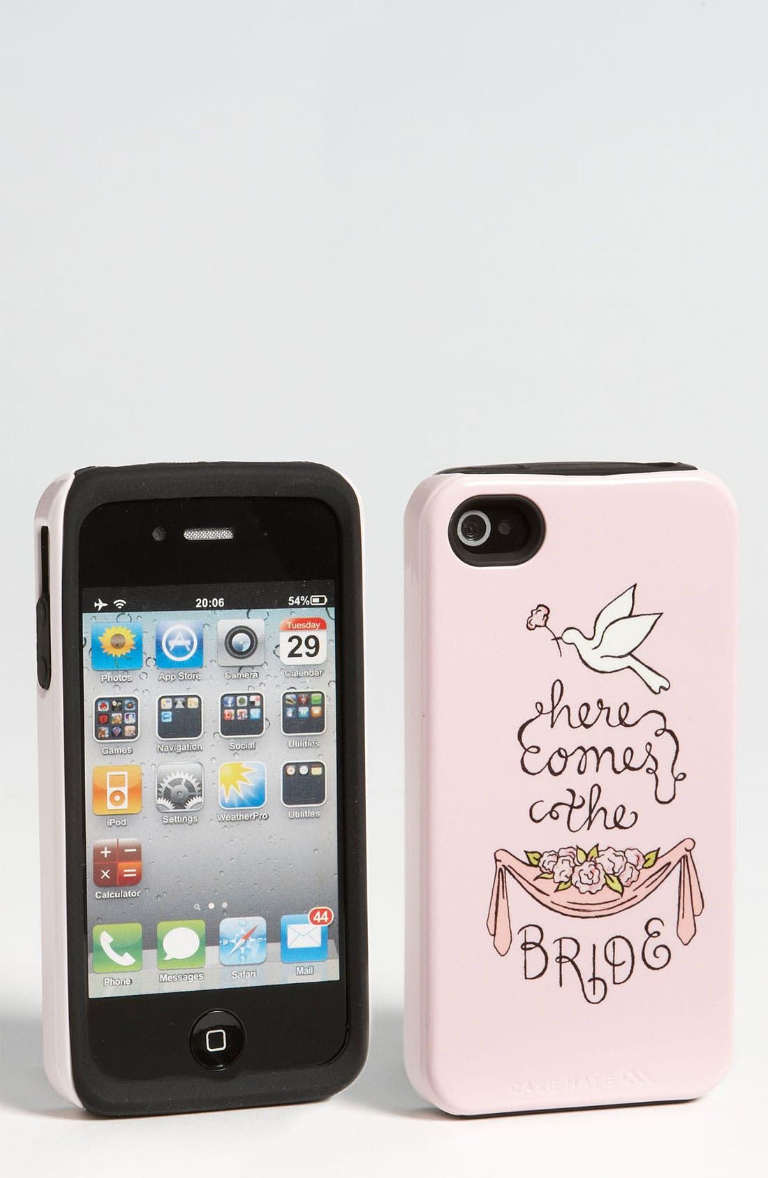 Alternate Image 1 Selected - Case-Mate® 'Wedding Garland' iPhone 4 & 4S Case