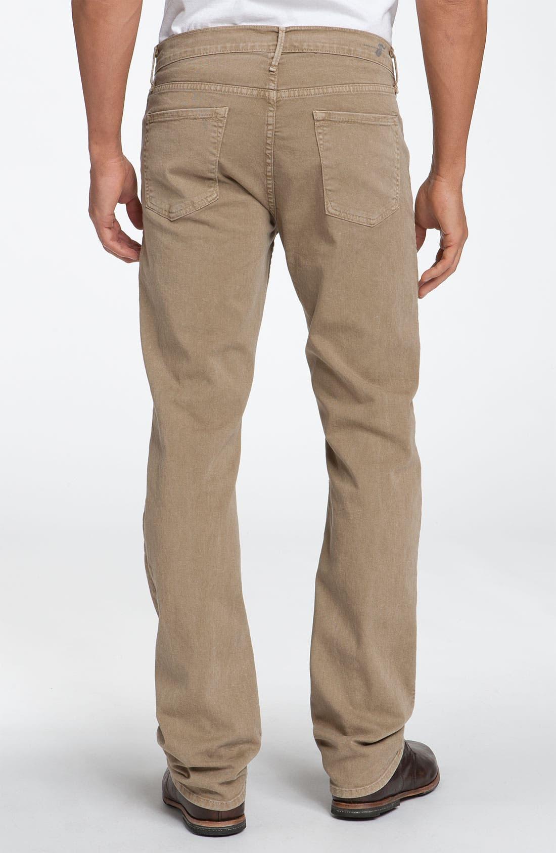 Alternate Image 2  - Earnest Sewn 'Fulton' Straight Leg Twill Pants