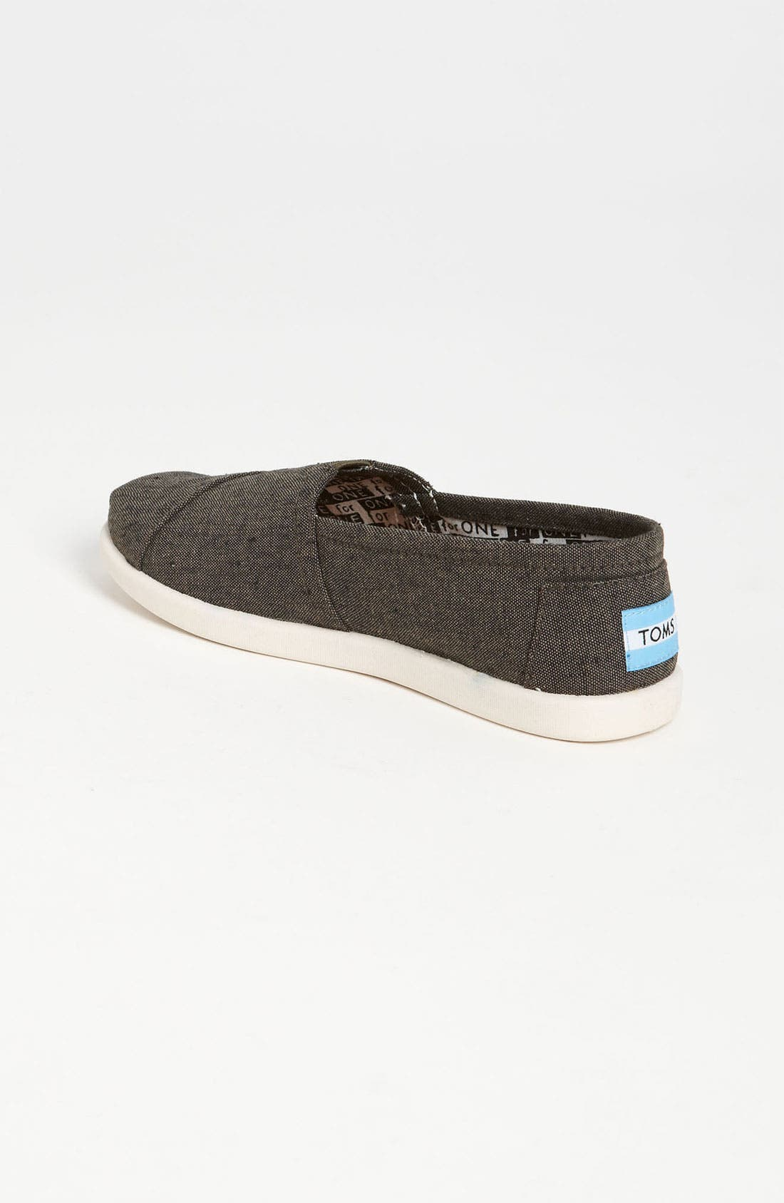 Alternate Image 2  - TOMS 'Classic - Youth' Chambray Slip-On (Toddler, Little Kid & Big Kid)