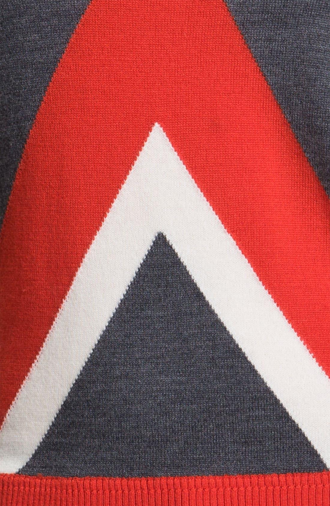 Alternate Image 3  - Milly 'Intarsia' Stripe Sweater