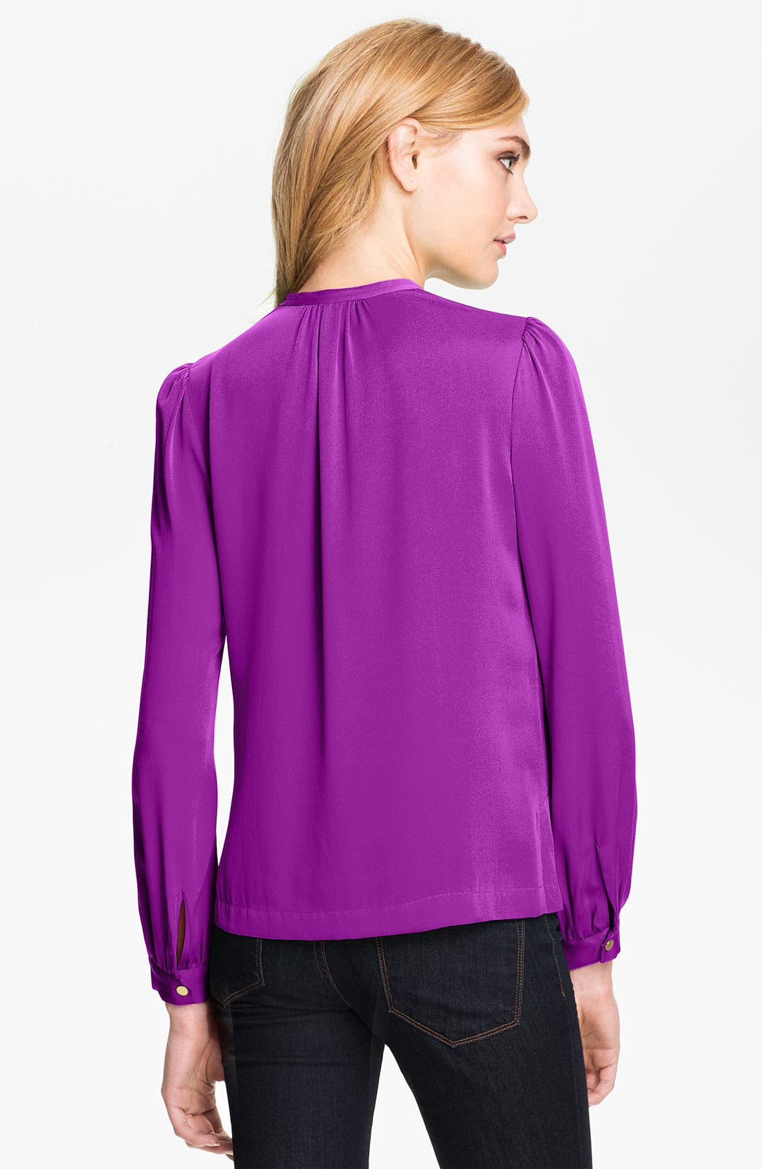 Alternate Image 2  - Diane von Furstenberg 'Billow' Silk Blouse