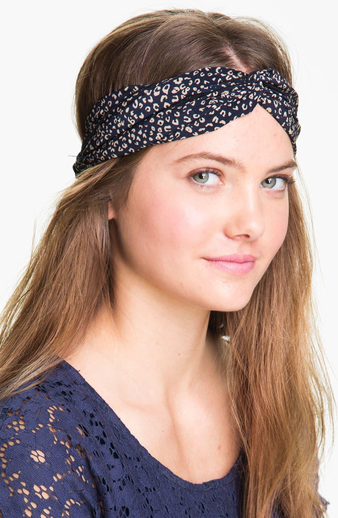 Alternate Image 1 Selected - Carole Print Twist Knot Headband