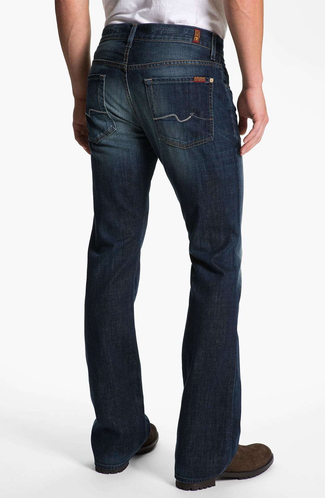 Alternate Image 1 Selected - 7 For All Mankind® 'Brett' Bootcut Jeans (Ashby Ave)