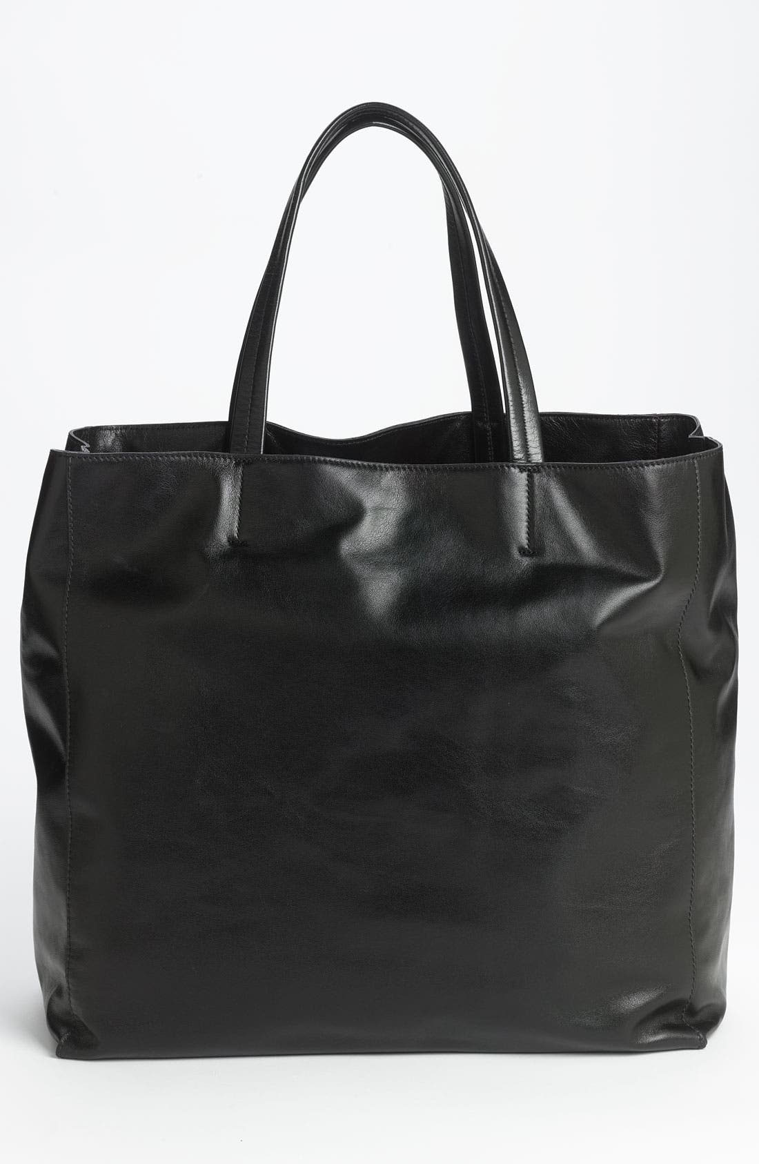 Alternate Image 4  - Lafayette 148 New York 'Anna' Leather Tote