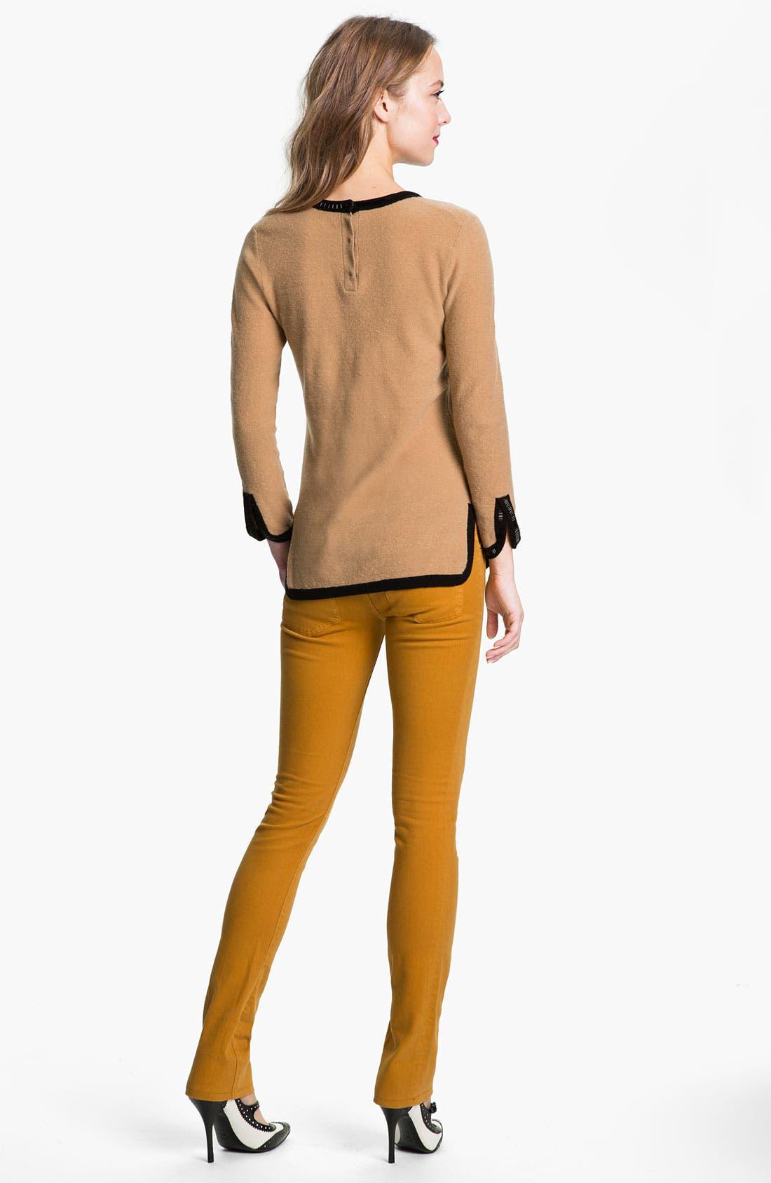 Alternate Image 5  - Tory Burch 'Ivy' Skinny Stretch Jeans