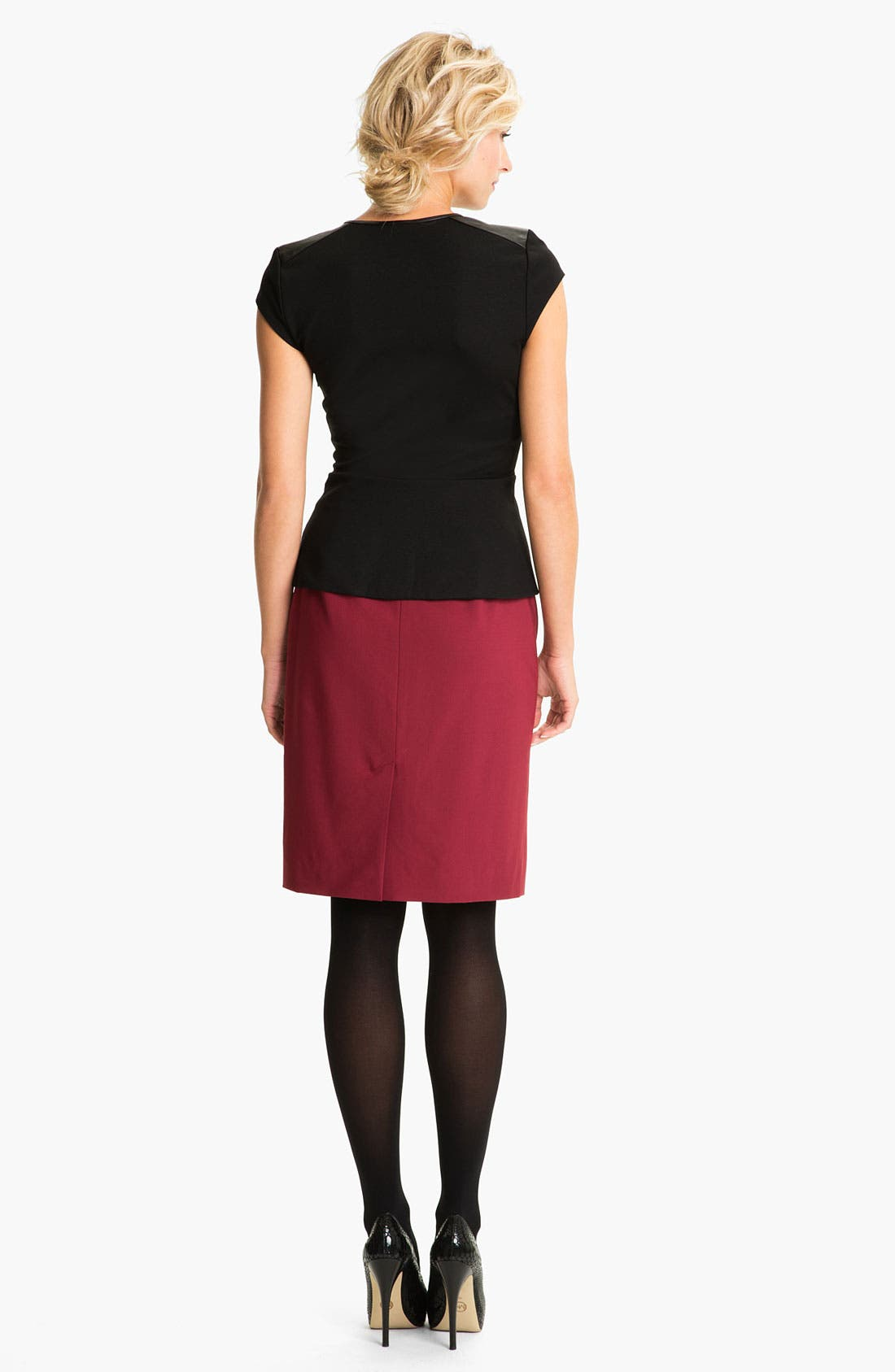 Alternate Image 5  - Classiques Entier® 'Piper Weave' Skirt