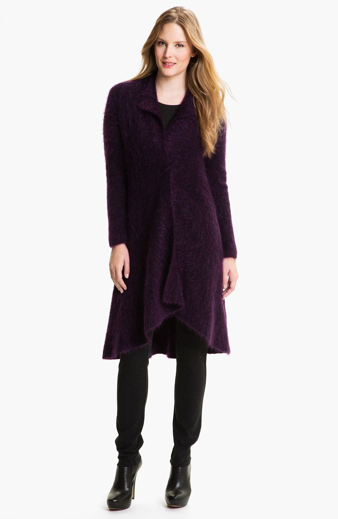 Alternate Image 1 Selected - Eileen Fisher Merino Blend Cardigan (Online Exclusive)