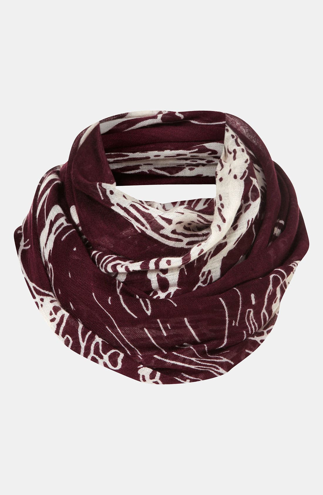 Main Image - Topshop 'Double Stag' Scarf