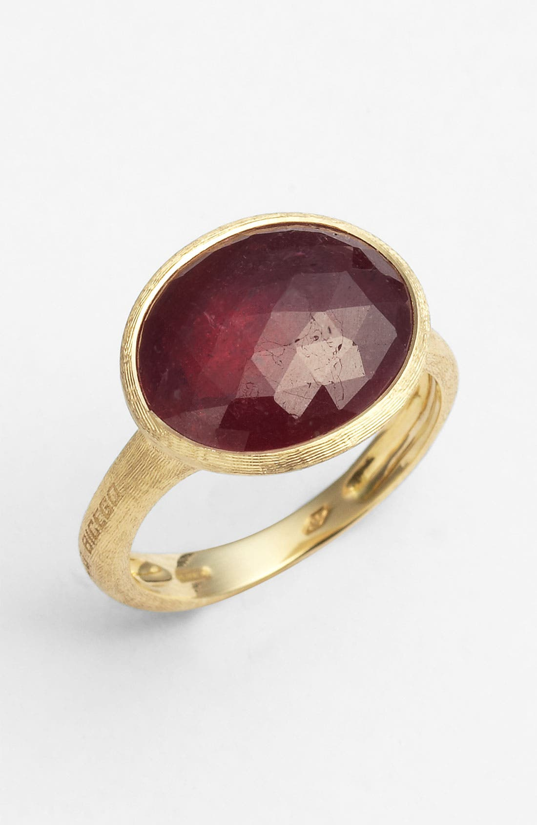 Alternate Image 1 Selected - Marco Bicego 'Siviglia' Faceted Sapphire Ring