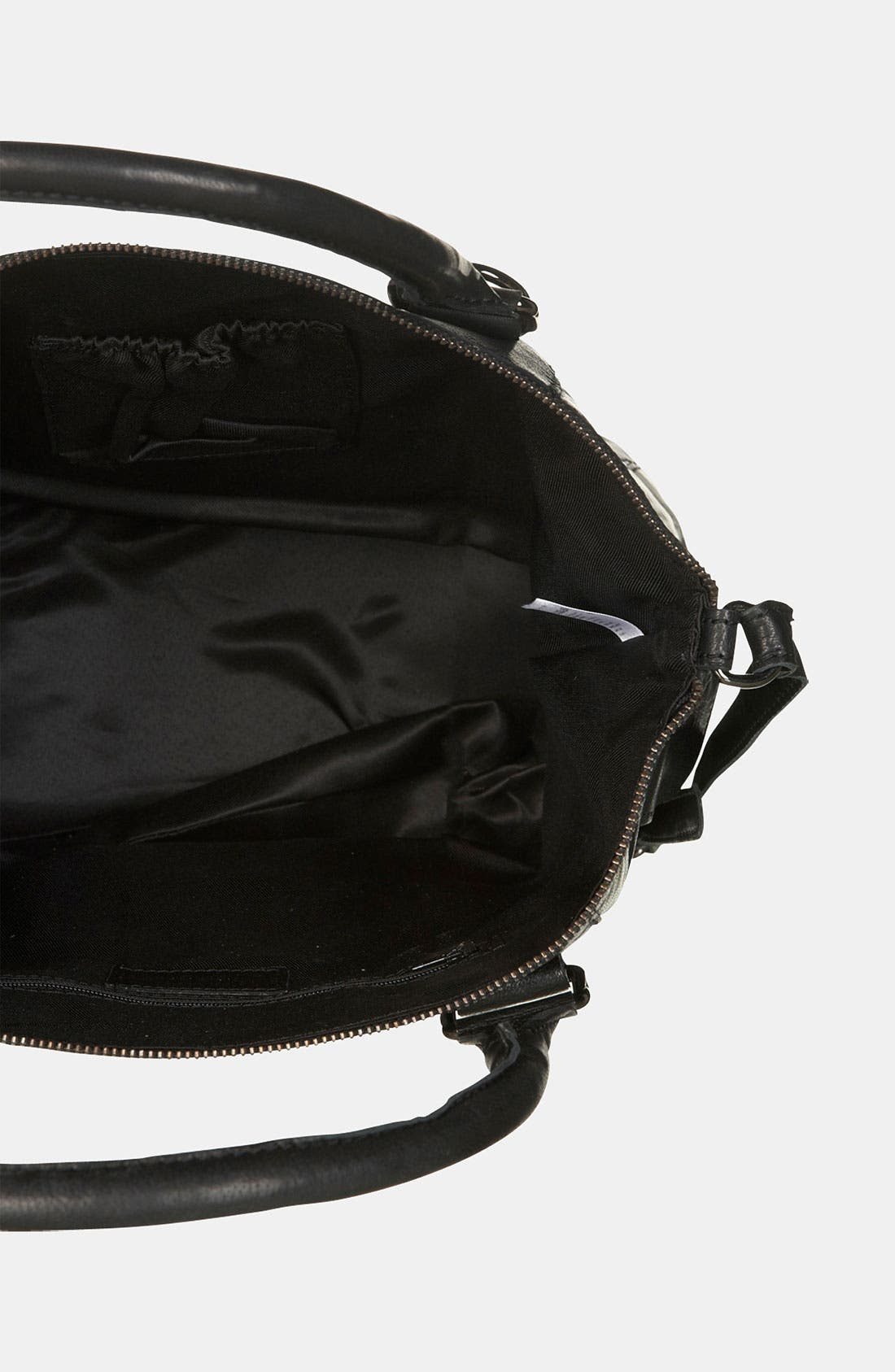 Alternate Image 3  - Topshop Leather Crossbody Bag