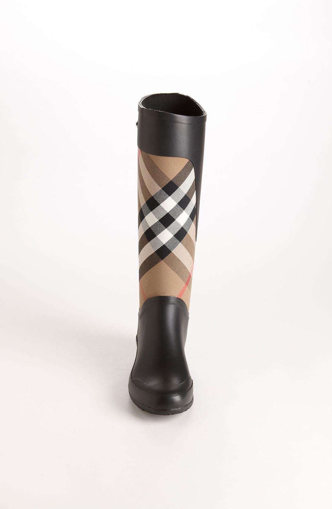 Alternate Image 3  - Burberry Clemence Rain Boot (Women)