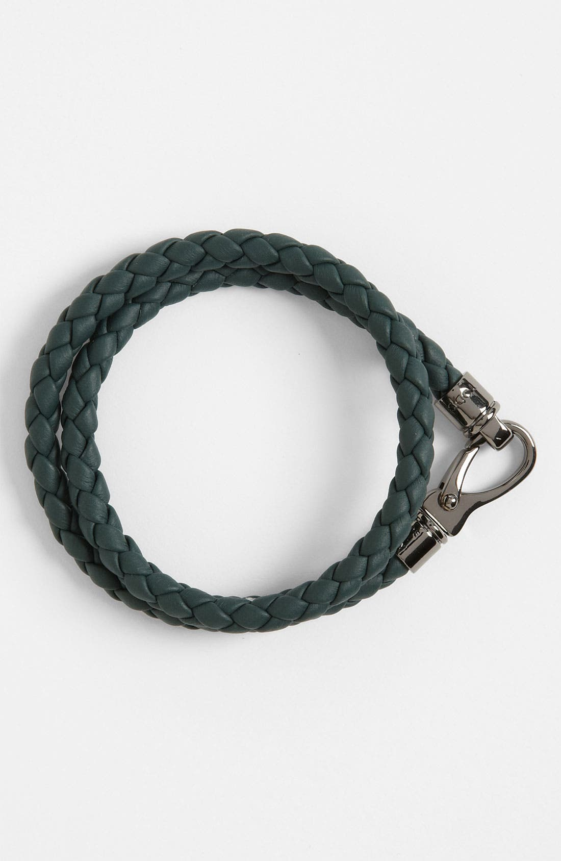 Alternate Image 1 Selected - Tod's Braided Leather Bracelet