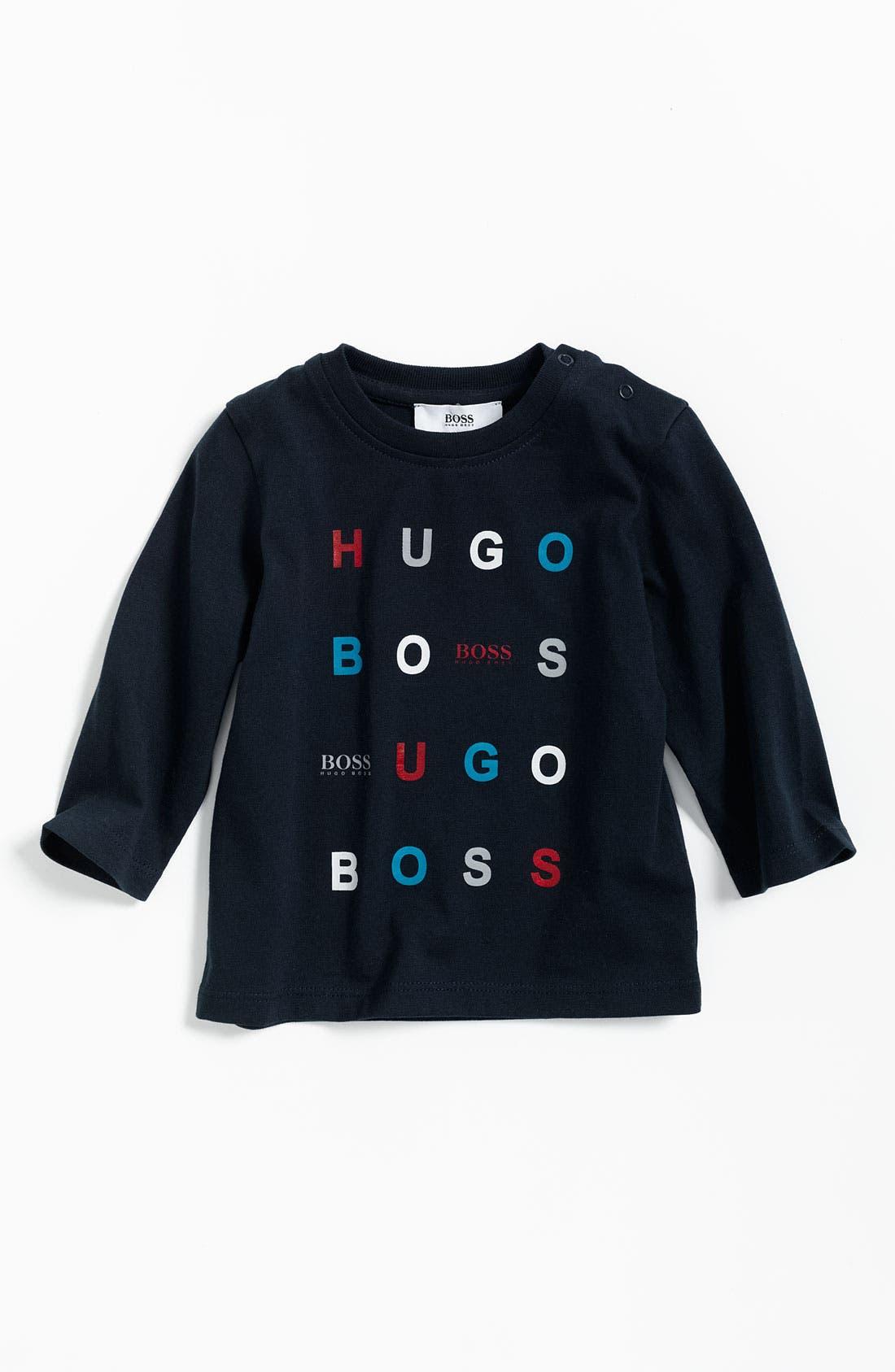 Alternate Image 1 Selected - BOSS Kidswear Logo T-Shirt (Infant)