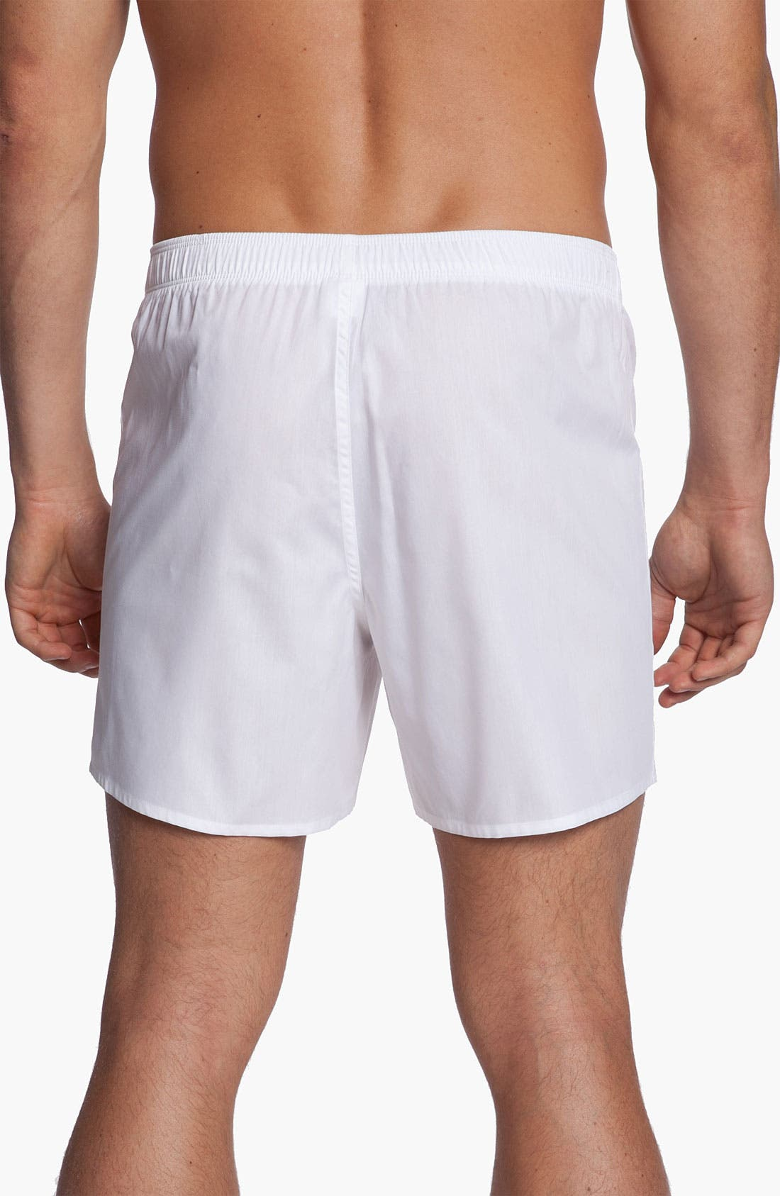 Alternate Image 2  - Nordstrom Trim Fit Cotton Boxers