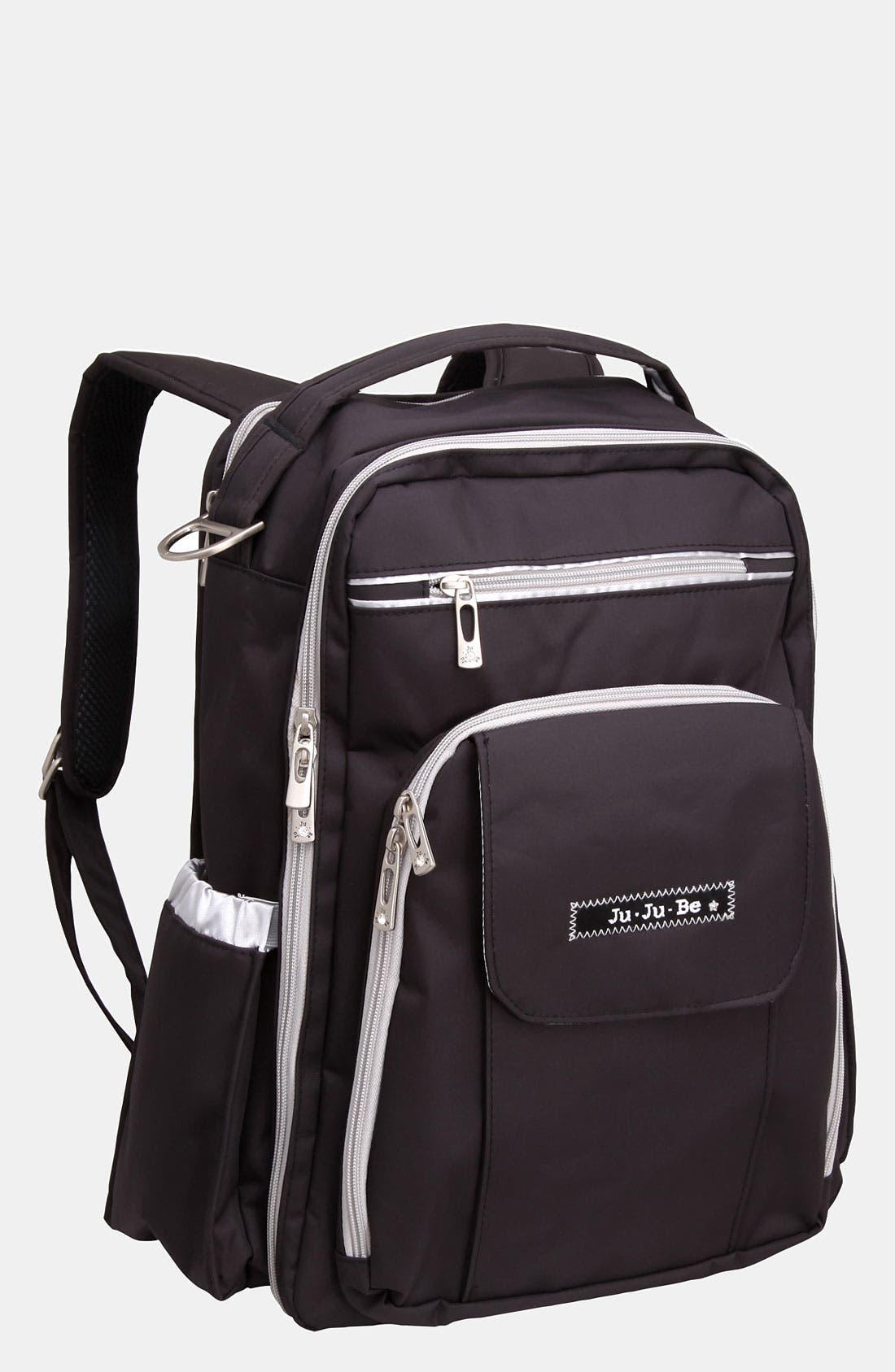 Alternate Image 1 Selected - Ju-Ju-Be 'Be Right Back' Diaper Backpack