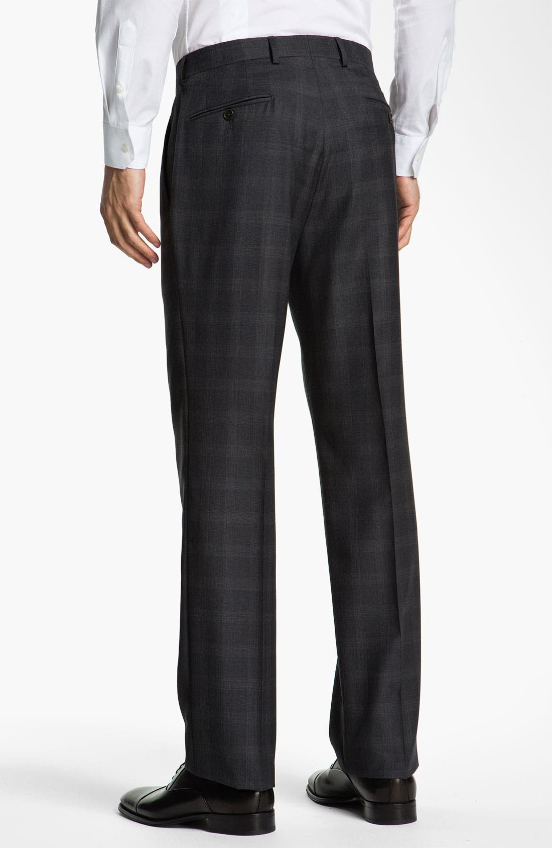 Alternate Image 5  - John Varvatos Star USA 'Bedford' Trim Fit Plaid Suit