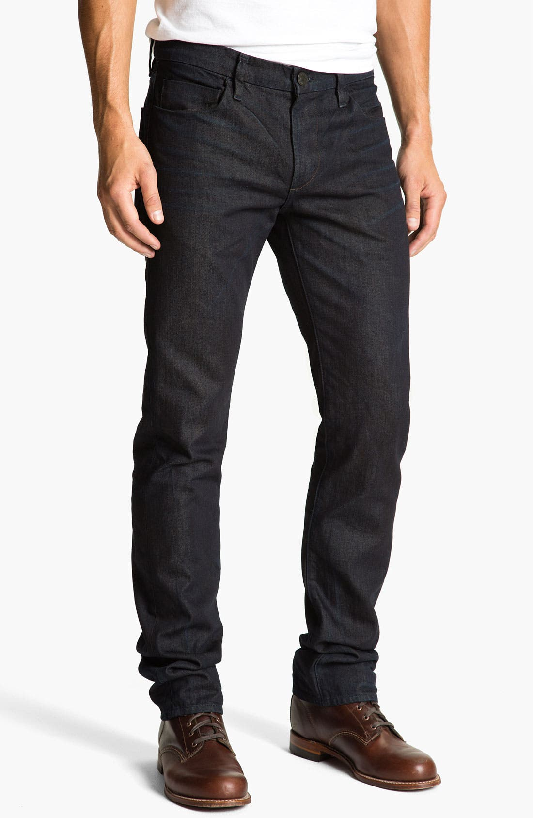 Alternate Image 2  - J Brand 'Kane' Slim Straight Leg Jeans (Legend)