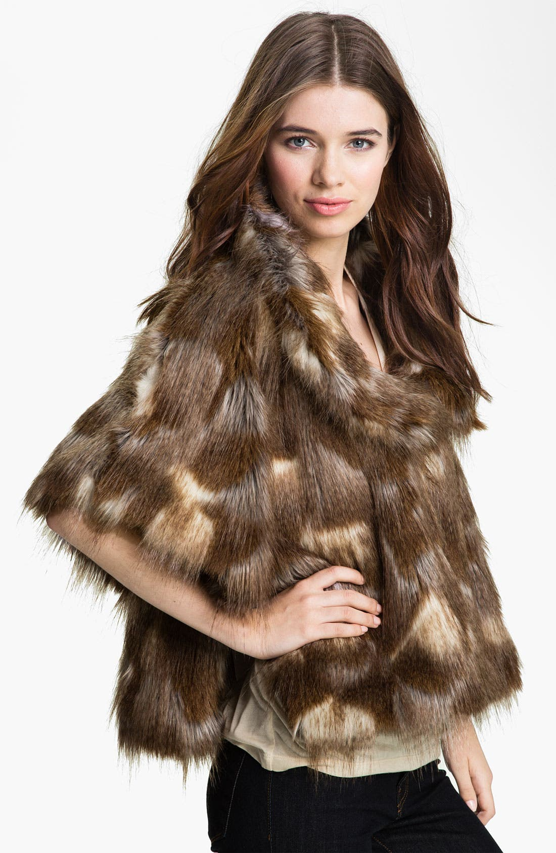 Main Image - Collection XIIX Faux Fur Jacket