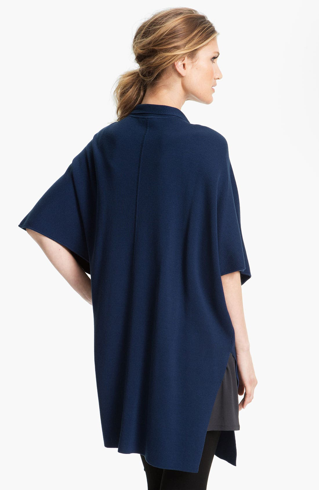 Alternate Image 2  - Eileen Fisher Stand Collar Cape