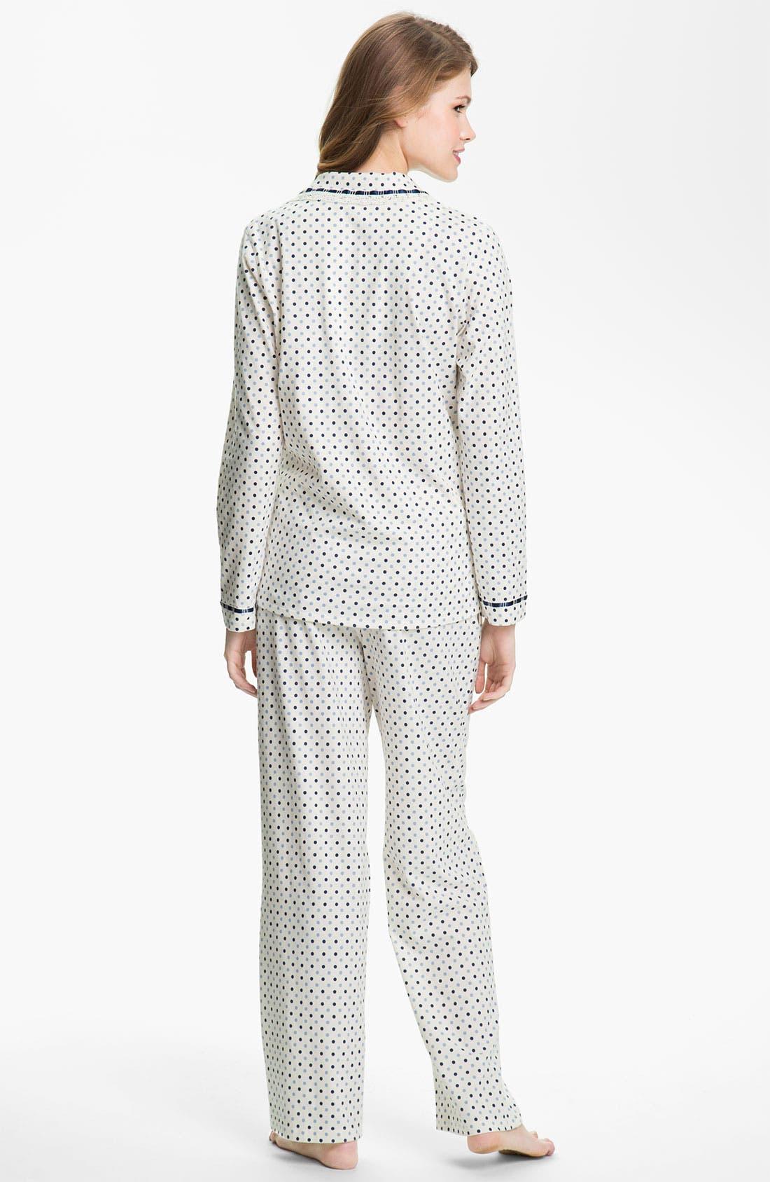 Alternate Image 2  - Eileen West 'Charm' Pajamas