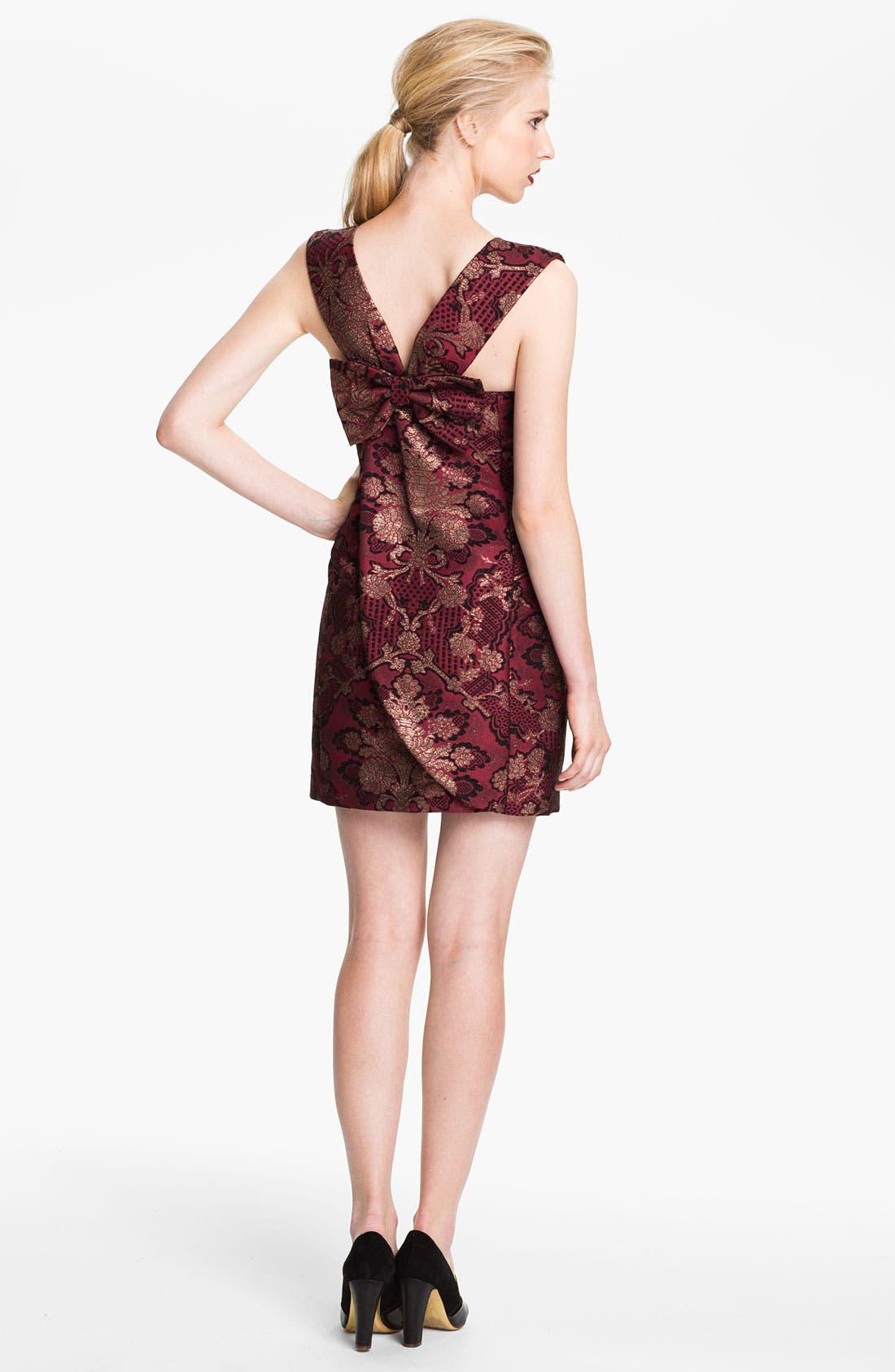 Alternate Image 2  - Tracy Reese Brocade Sheath Dress