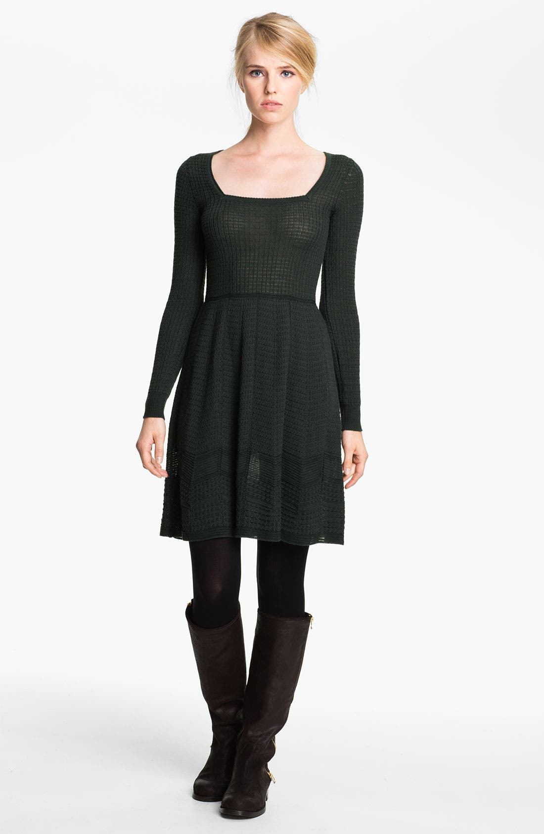 Alternate Image 1 Selected - M Missoni Long Sleeve Knit Dress