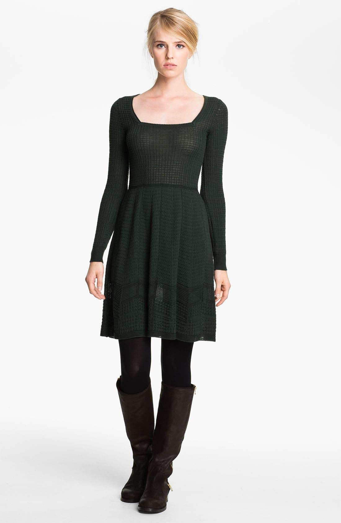 Main Image - M Missoni Long Sleeve Knit Dress