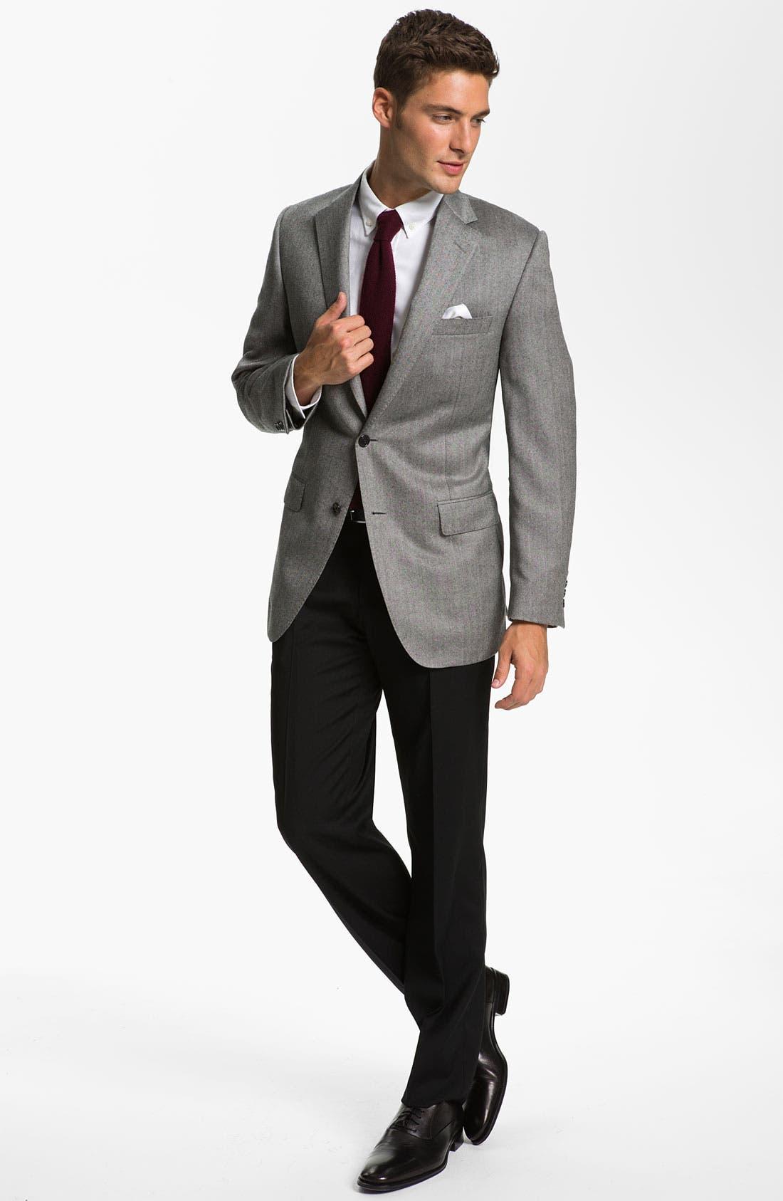 Alternate Image 4  - Samuelsohn Cashmere Sportcoat