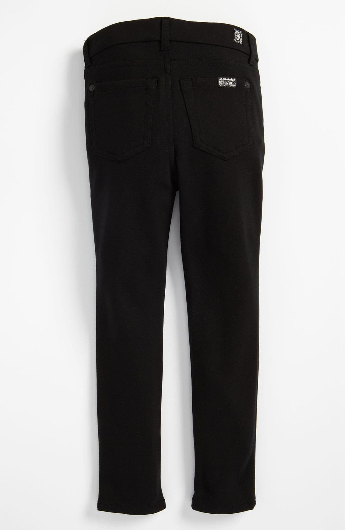 Main Image - 7 For All Mankind® Skinny Ponte Knit Pants (Little Girls)