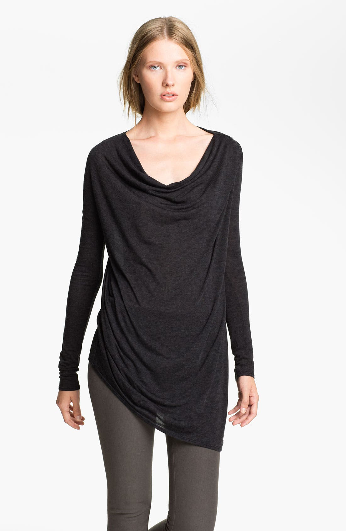 Main Image - HELMUT Helmut Lang 'Kinetic' Off Shoulder Jersey Tee