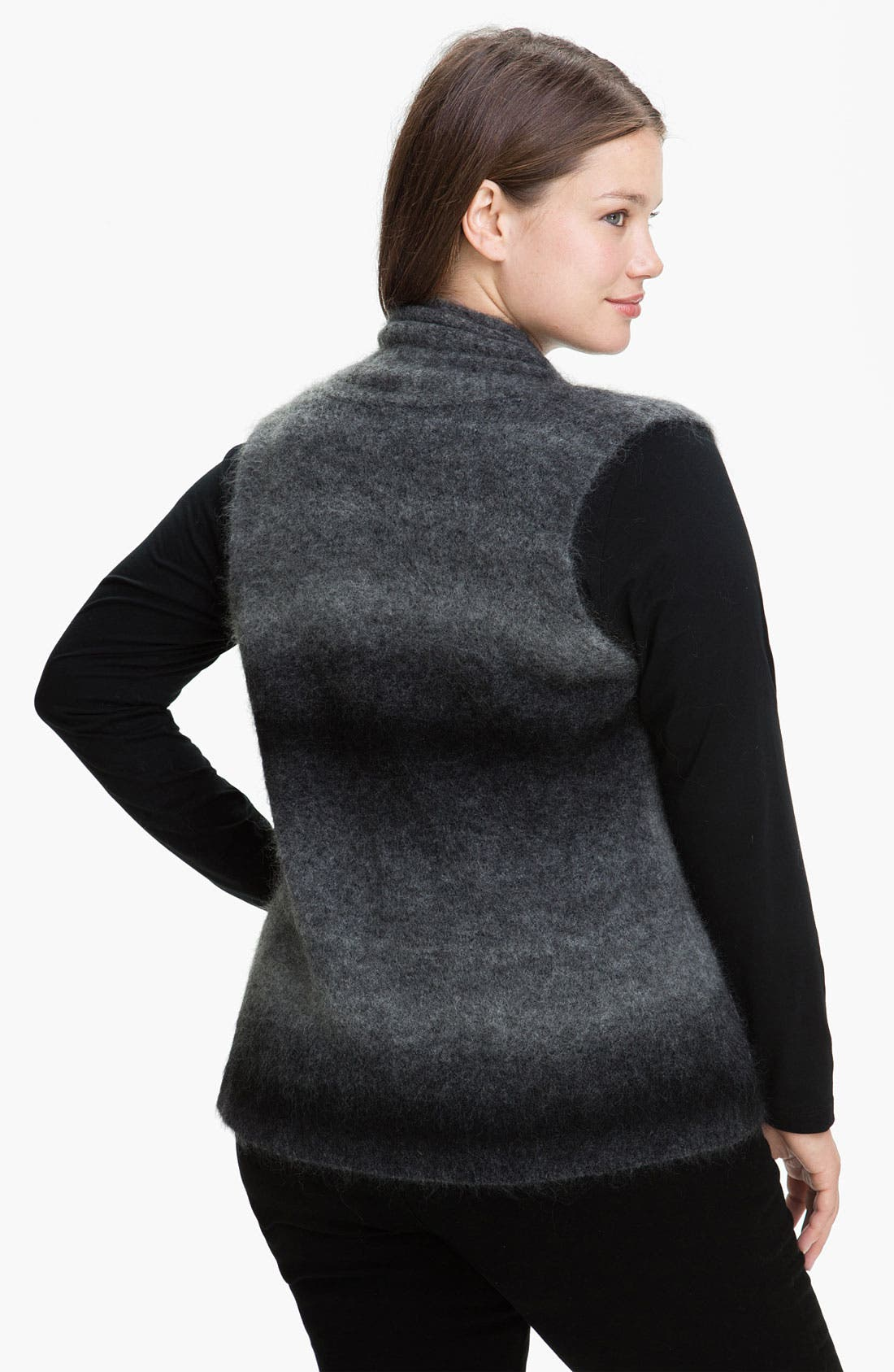 Alternate Image 2  - Eileen Fisher Shaped Ombré Vest (Plus)