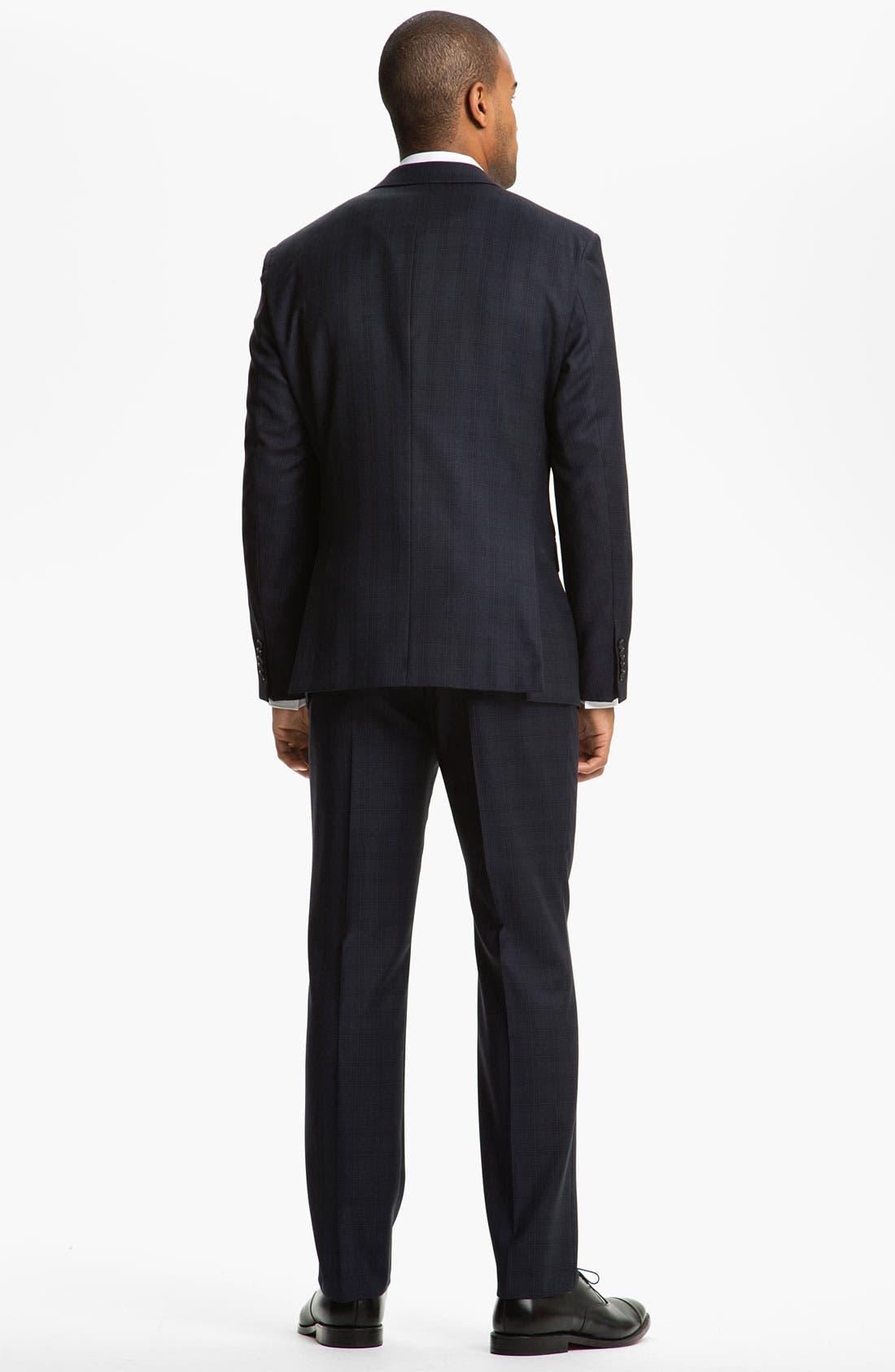 Alternate Image 3  - BOSS Selection Suit & BOSS Black Dress Shirt