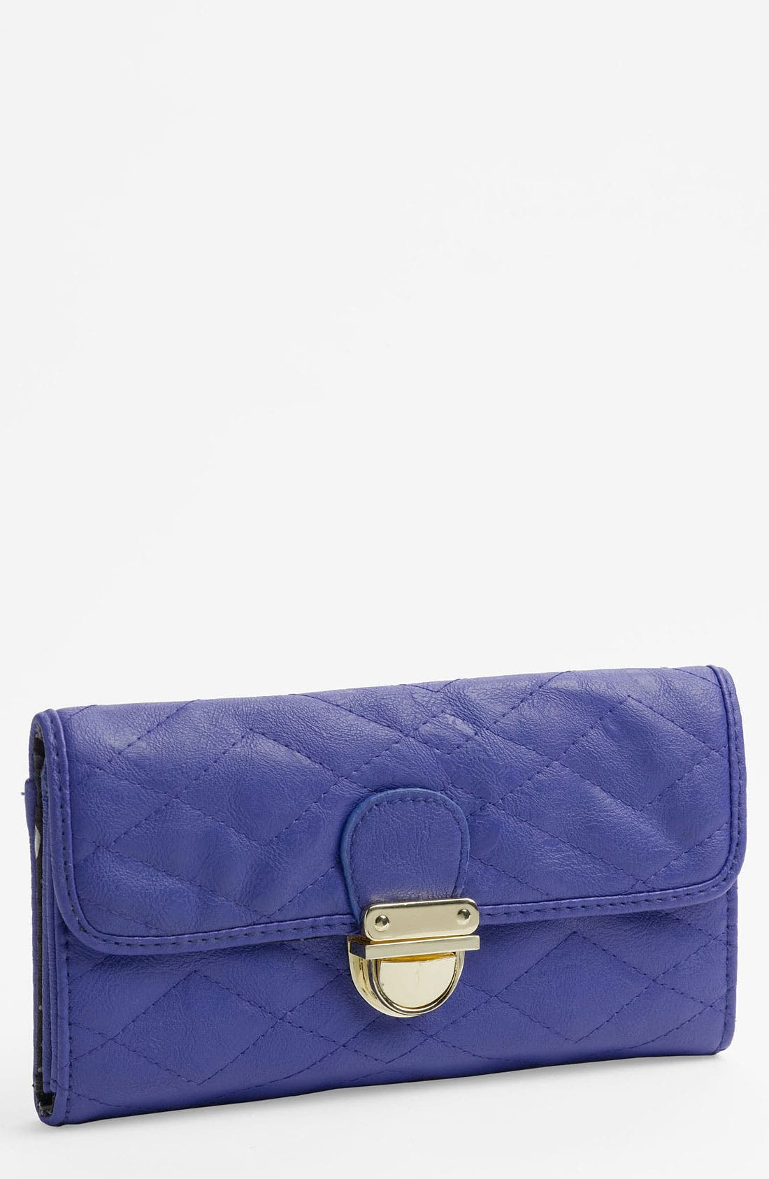 Alternate Image 1 Selected - Lulu Quilted Wallet