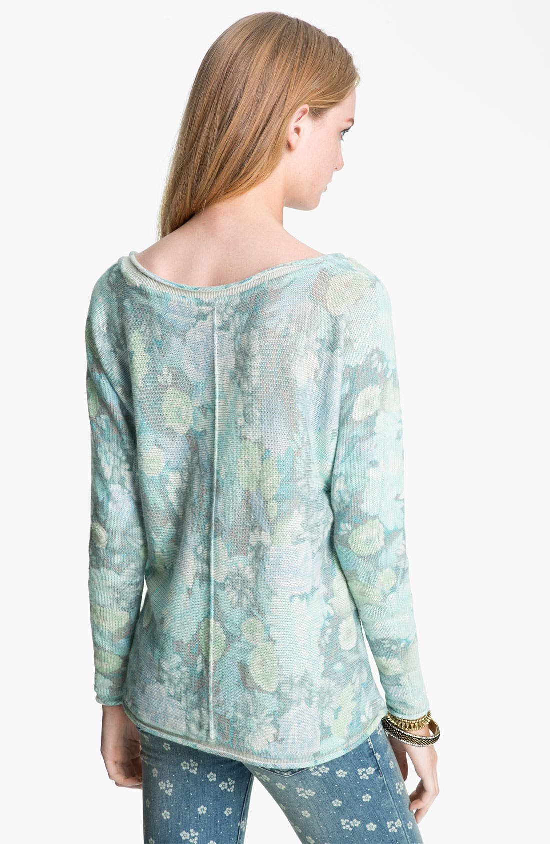 Alternate Image 2  - Free People 'Flower Bomb' Sweater