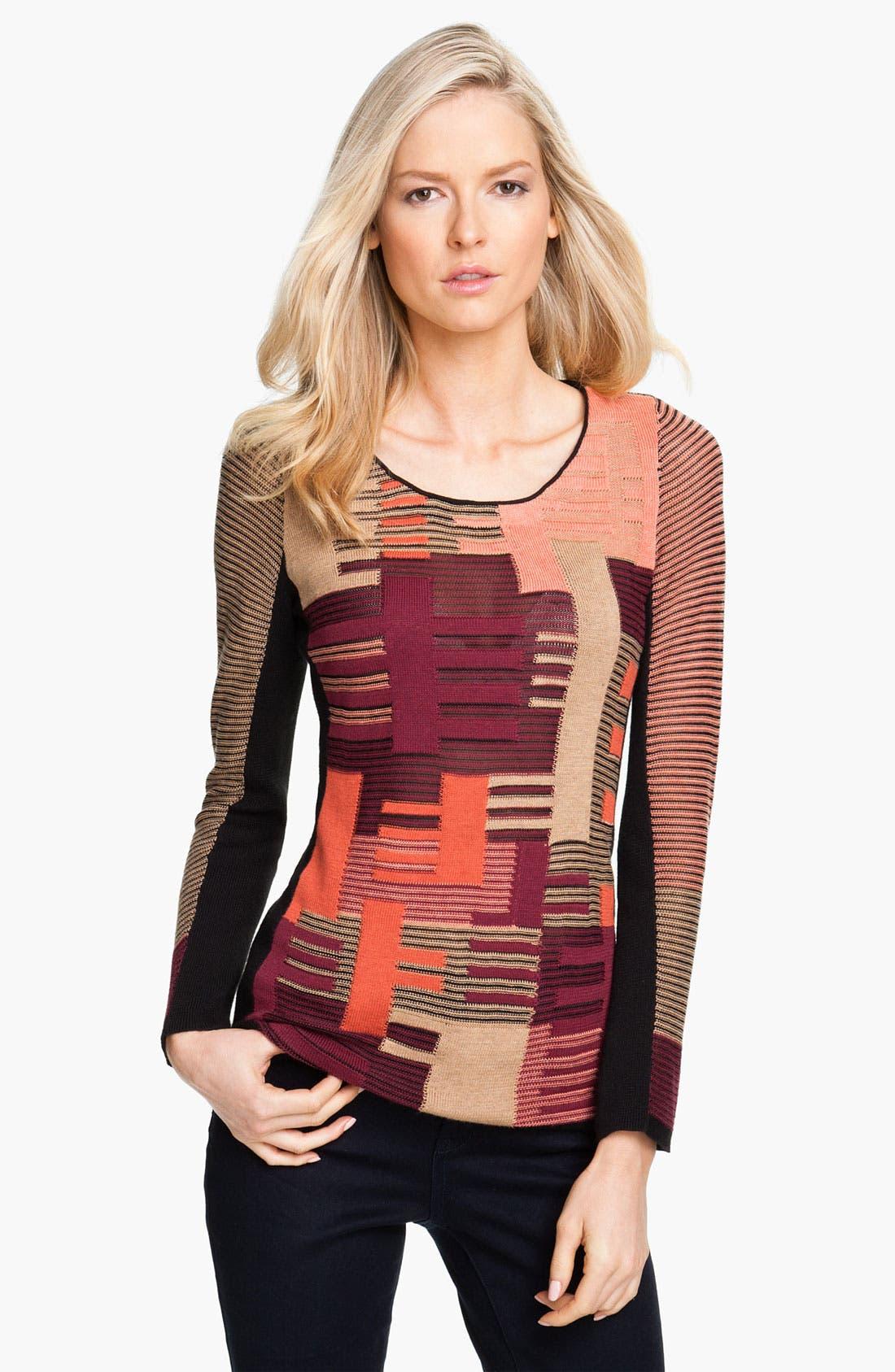 Alternate Image 1 Selected - Nic + Zoe 'Puzzle' Sweater