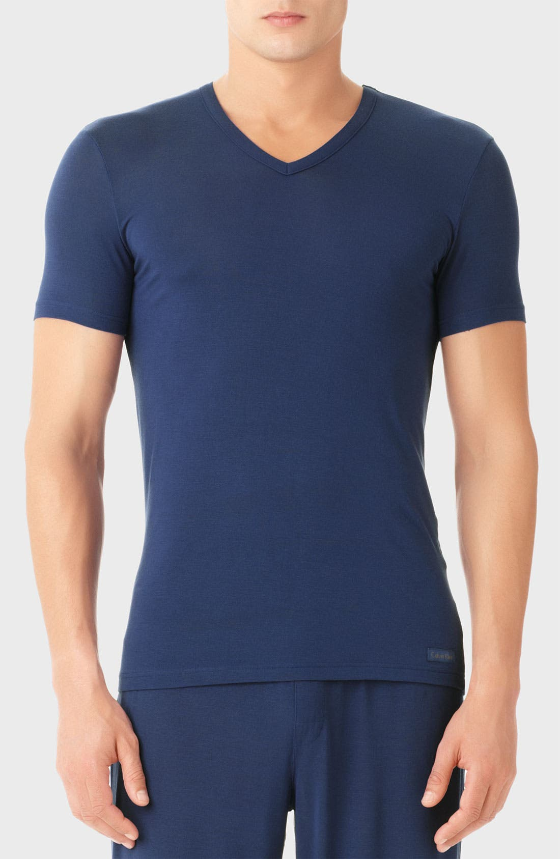 Main Image - Calvin Klein 'U5563' V-Neck Micromodal T-Shirt