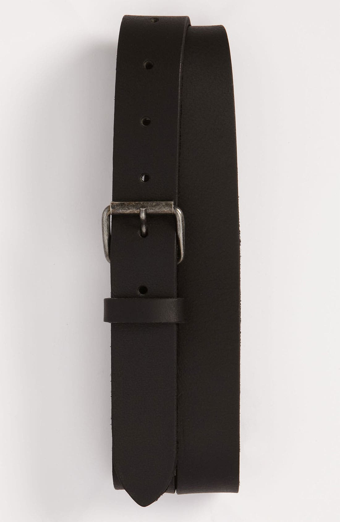 Alternate Image 1 Selected - Topman 'Smithy' Leather Belt