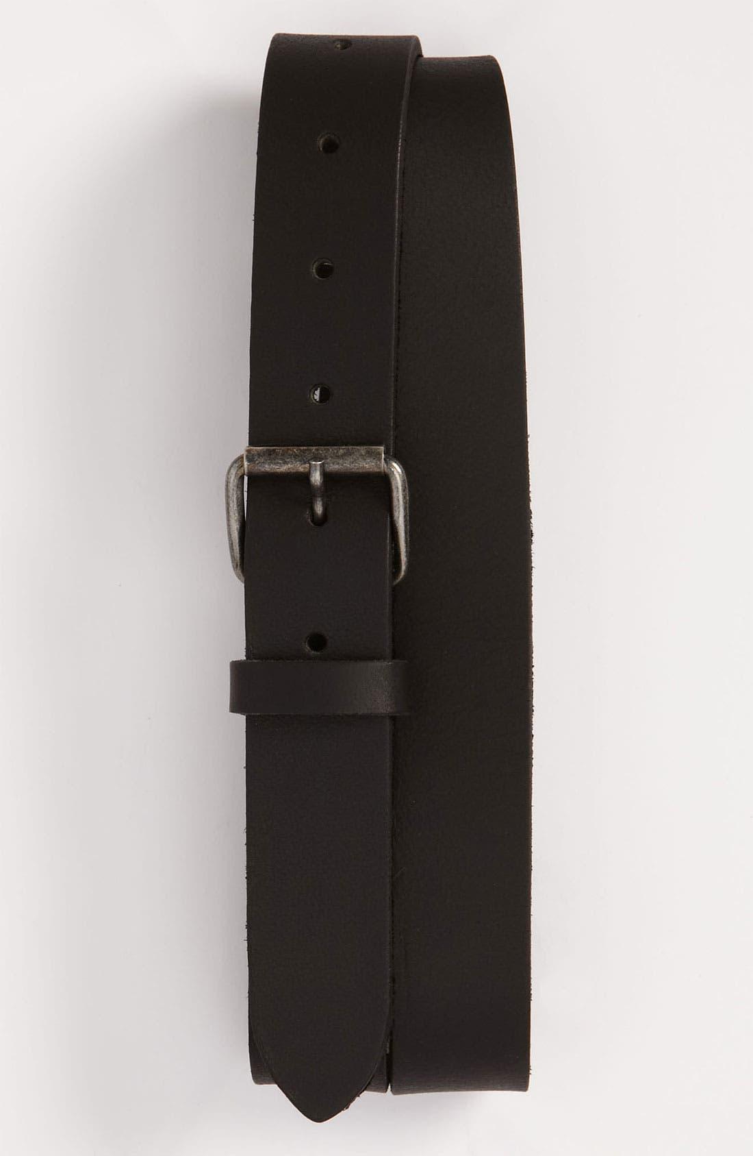 Main Image - Topman 'Smithy' Leather Belt