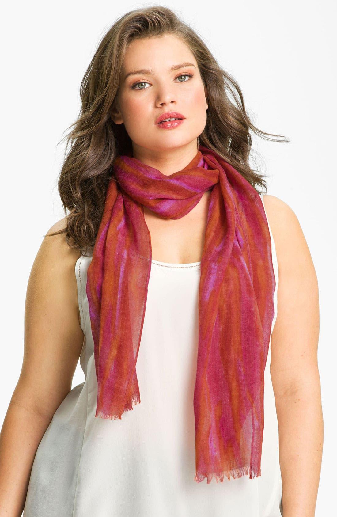 Alternate Image 1 Selected - Eileen Fisher Silk & Wool Scarf