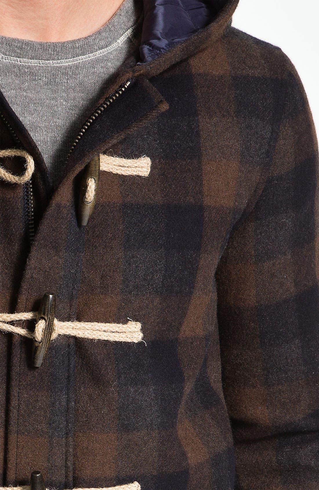 Alternate Image 3  - Splendid Mills 'Bonfire' Plaid Coat