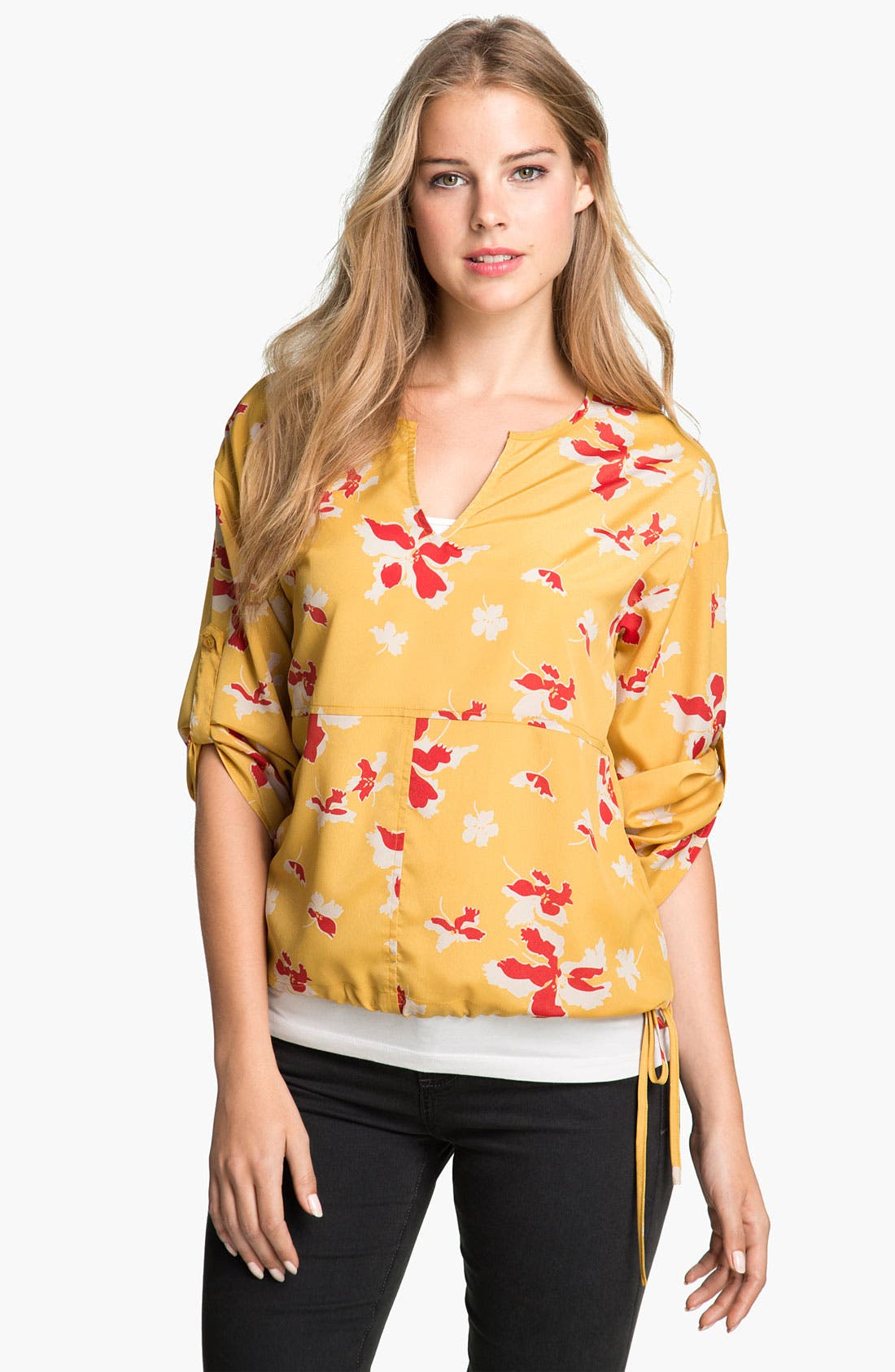 Alternate Image 1 Selected - Éclair Floral Blouse