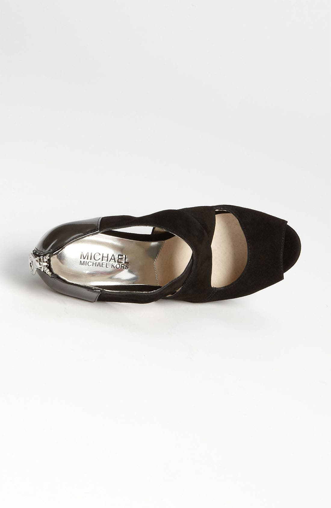 Alternate Image 3  - MICHAEL Michael Kors 'Elena' Cross Strap Sandal