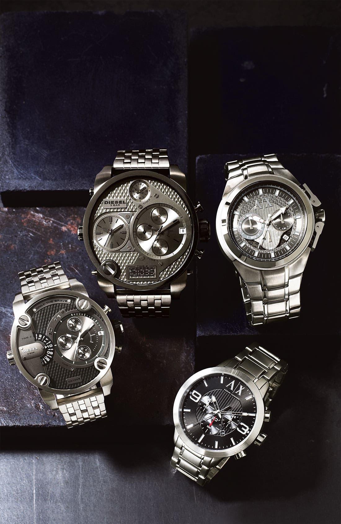 Alternate Image 2  - AX Armani Exchange Men's Chronograph Bracelet Watch