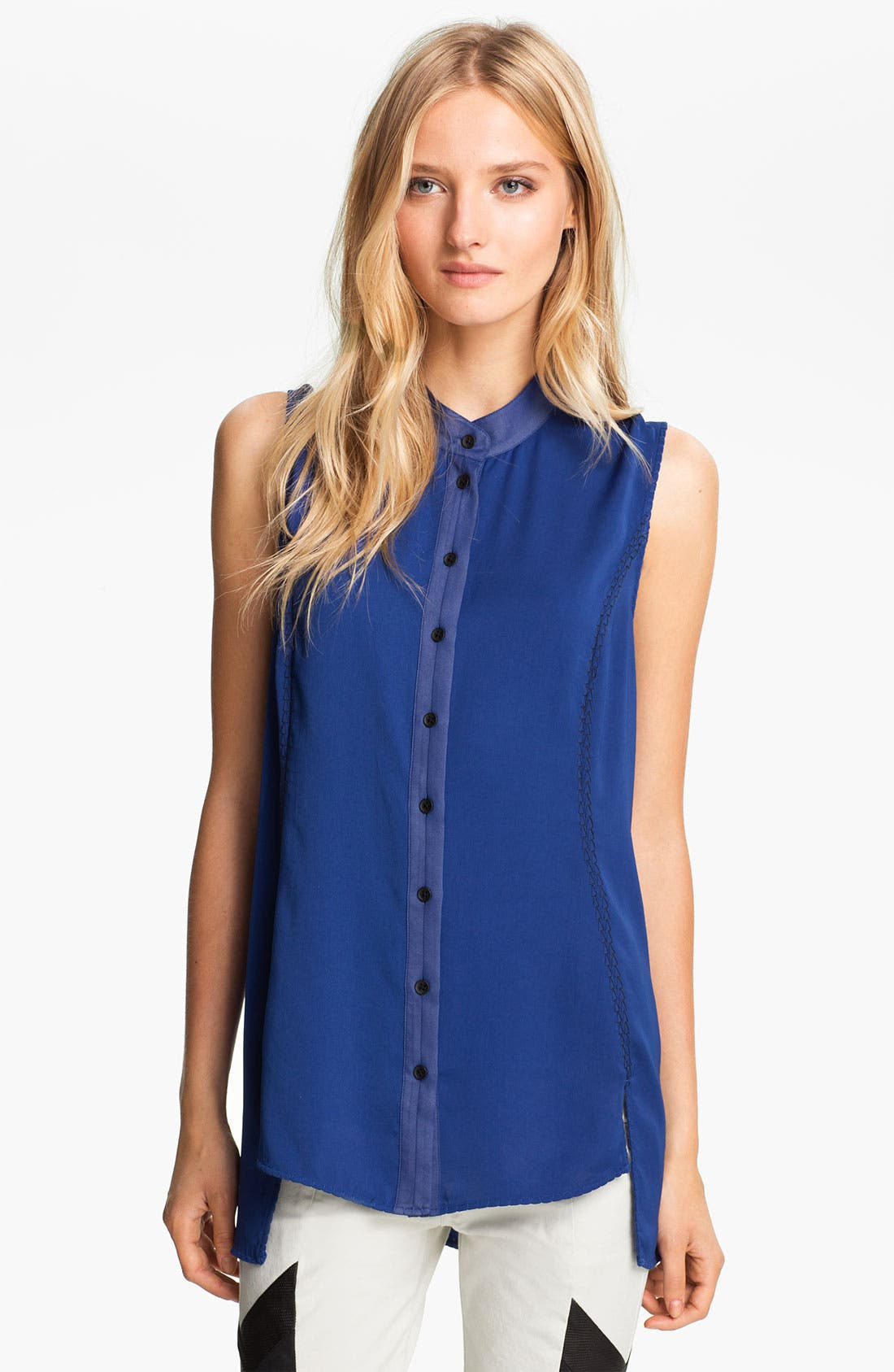Alternate Image 1 Selected - rag & bone 'Noris' Sleeveless Top