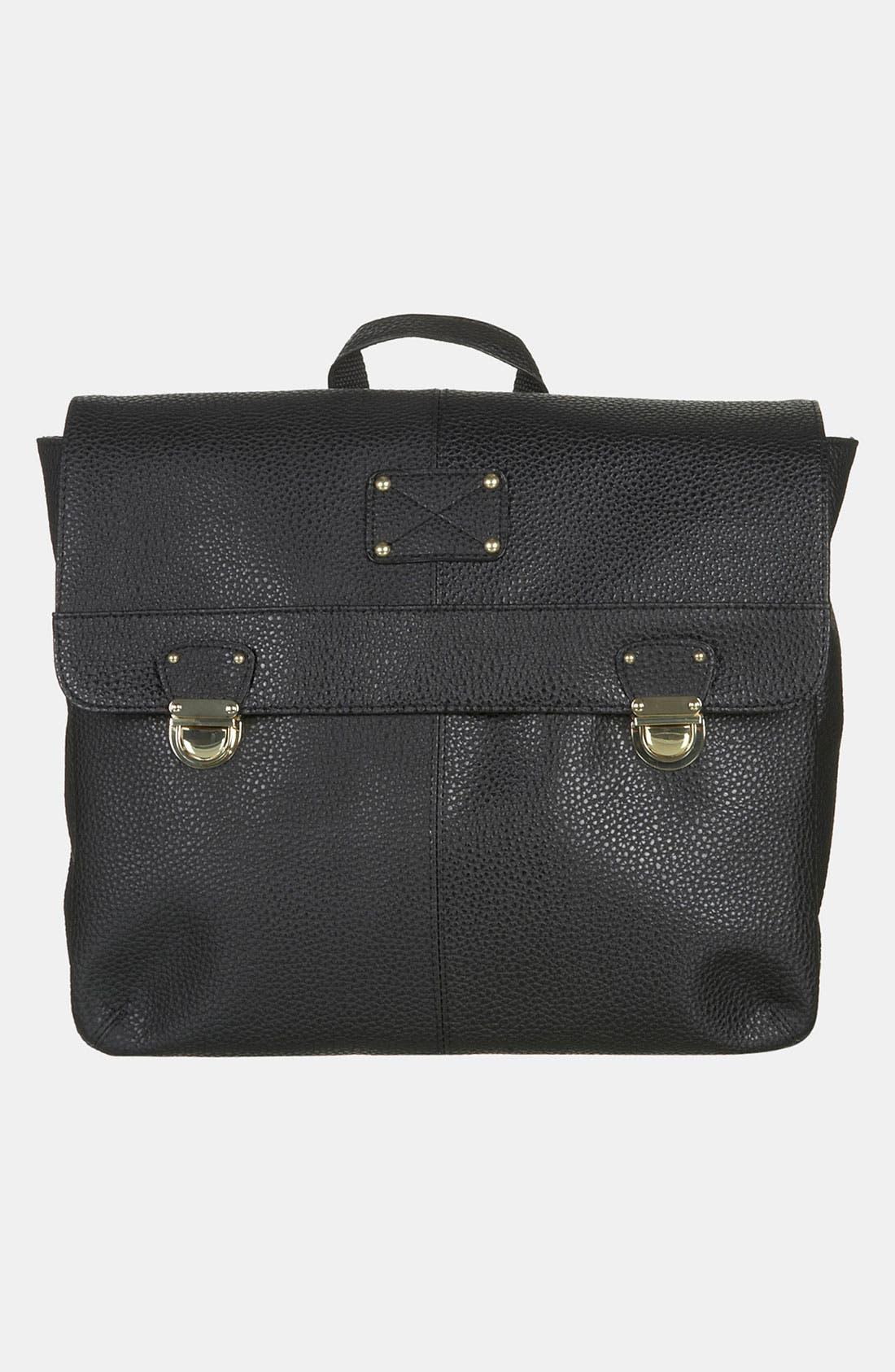 Alternate Image 2  - Topshop Push Lock Backpack