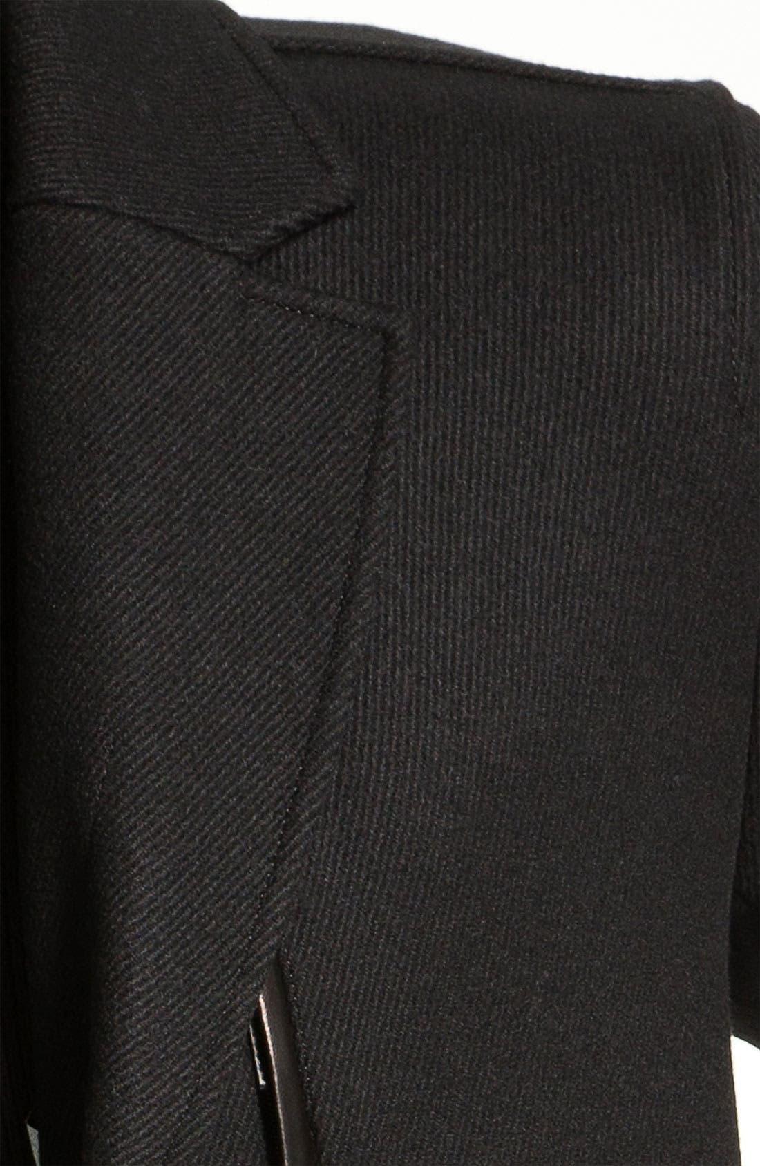 Alternate Image 3  - Cole Haan Wool Blend Overcoat