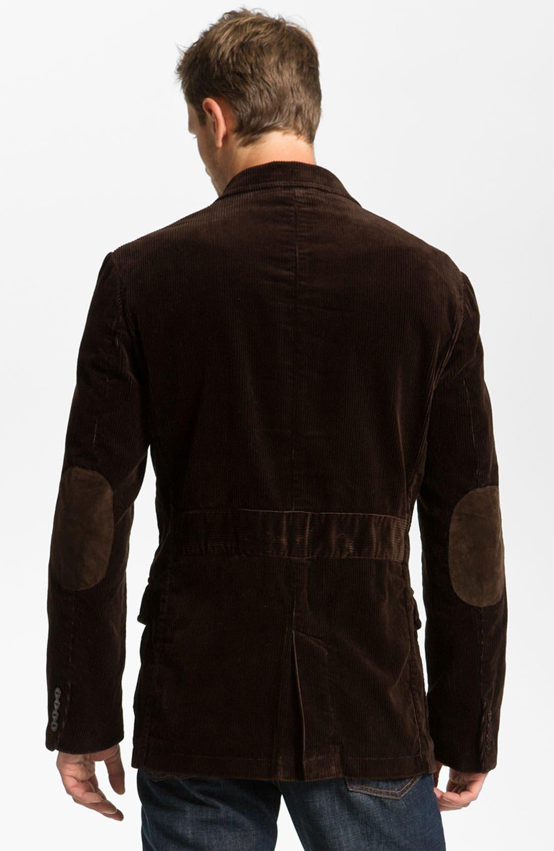 Alternate Image 2  - Façonnable Denim Corduroy Sportcoat